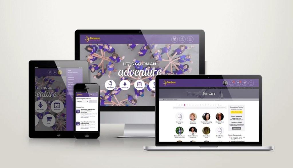 Lee Media Group recently overhauled the Adventurous Babes Society's custom WordPress membership site.
