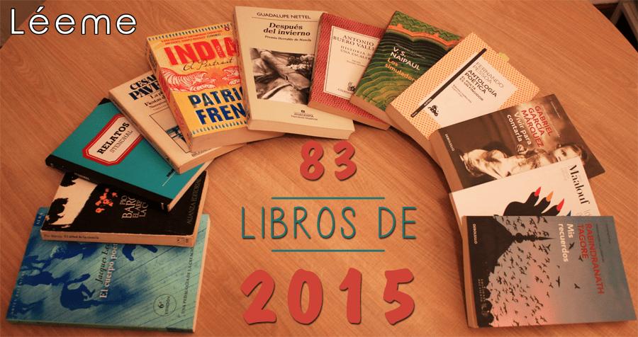Libros 2015 menospeso
