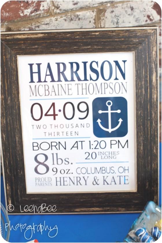 Harrison turns 1 - 1