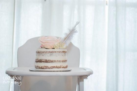 Boho First Birthday Cake Smash Dublin Ohio-3