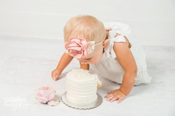 Dublin ohio first birthday cake smash photography-12