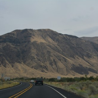 Deserty roads in Eastern WA