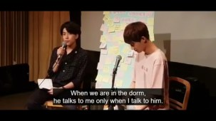 [ENG] PRODUCE 101 FIRST FANMEET with Yongguk and Sihyun.mp4_000886500