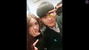 Jeon Seomi supports her friend Lee Daehwi 이대휘.mp4_000042900