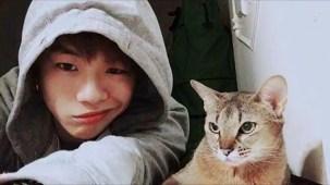 PRODUCE 101 _ Kang Daniel and his cats.mp4_000051885