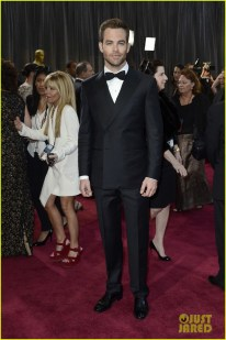 Chris Pine in Ermenegildo Zegna.