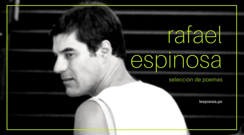 7 poemas de 'El portapliegos' de Rafael Espinosa