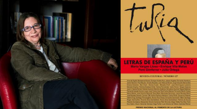 FIL Lima 2018: Carmen Ollé presentará edición de la revista Turia dedicada a las letras de España y Perú