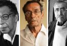 Enrique Verástegui, Abelardo Oquendo y Edgardo Rivera.