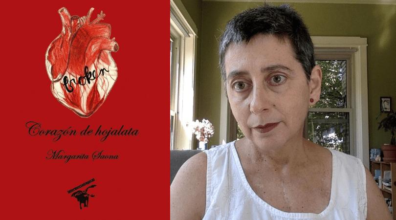 """Presentan nueva edición de """"Corazón de hojalata"""", poemario de Margarita Saona"""