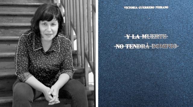 Victoria Guerrero presenta su nuevo libro «Y la muerte no tendrá dominio»