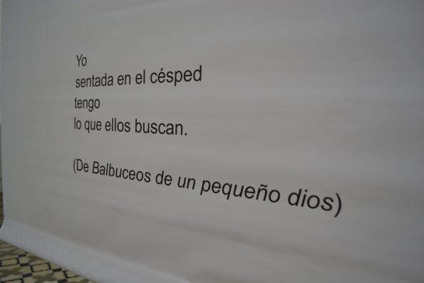 instalación poética july solís