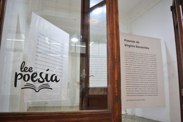 Instalación poética de Virginia Benavides