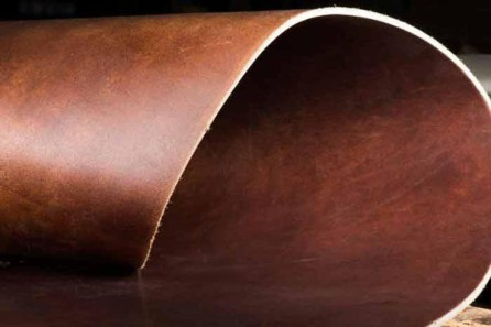 tanned leather