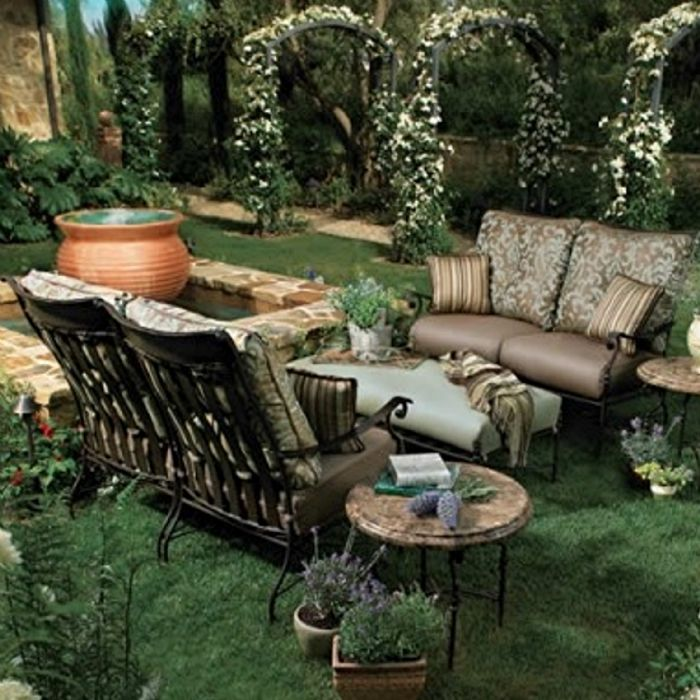 OW Lee Replacement Cushions Rustic Garden Deep Seat D Collection