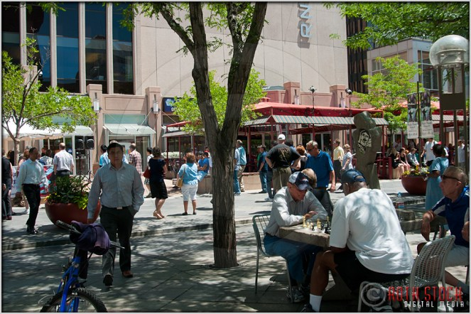 Playing Chess on the 16th Street Mall