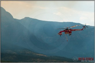 3:40:37pm - Waldo Canyon Fire: Sikorsky S-64 Firefighting Helicopter