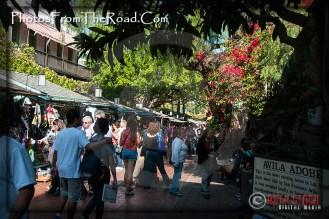 Atmosphere of Olvera Street