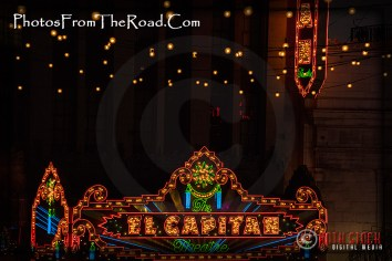 The El Capitan Theatre Marquee
