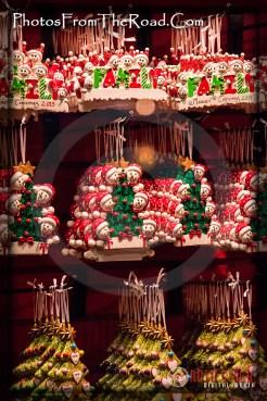 Holiday Decorations along Hollywood Blvd.