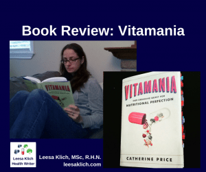 Book Review Vitamania