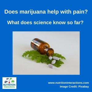 Does marijuana help with pain?