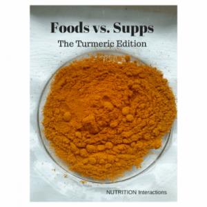 turmeric vs curcumin