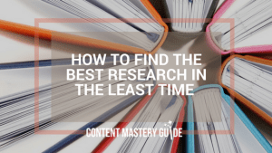 Best research least time