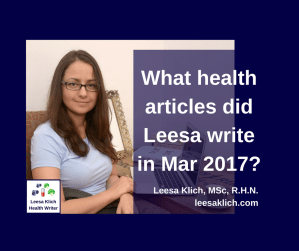 health articles march