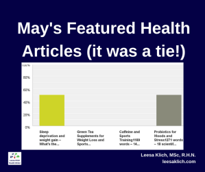 may featured health articles