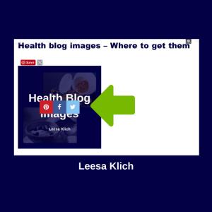 health blog image share