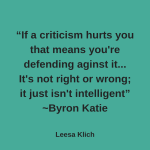 real vs fave news byron katie quote