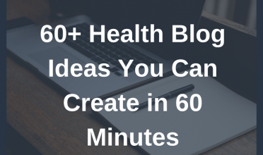Struggling to blog? Here are 60+ wellness blog ideas you can create in 60 minutes