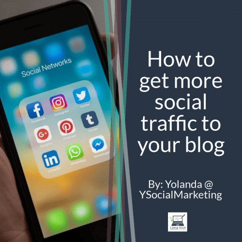 How to get more social traffic to your blog