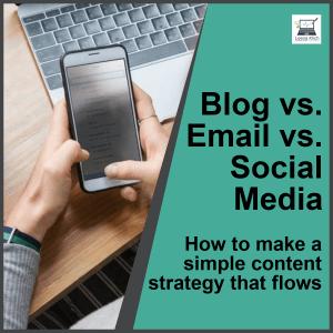 blog email social media