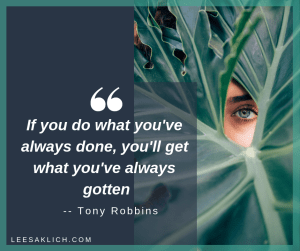 Successful blogging tips Tony Robbins Quote