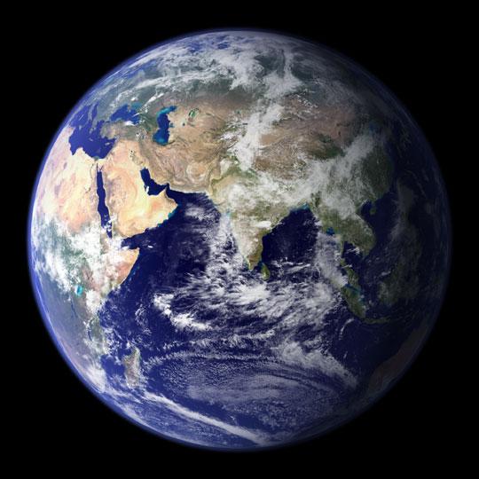 Earth from NASA