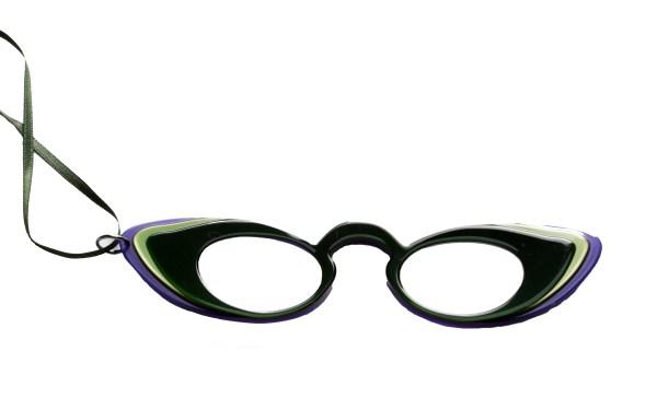 Brilketting Filao Face a Main Libellule groen/paars