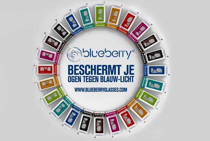 Computerbril Blueberry L havanna