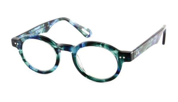 Leesbril Frank and Lucie Eyeball FL13300 Treetop Blue