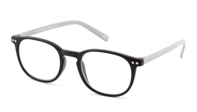 Leesbril INY Icon Double G55800 zwart/grijs