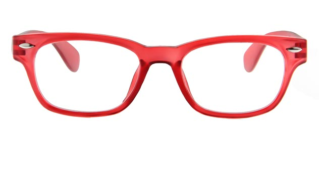 Leesbril INY Woody G14600 rood/transparant