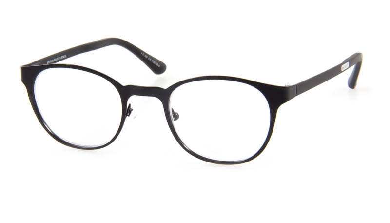 Leesbril Mathlete 904 00 mat zwart