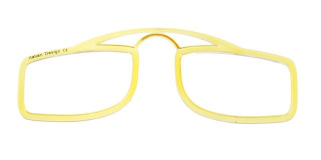 Leesbril OOPS geel/transparant