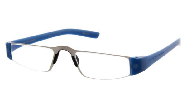 cf9f0d166c3953 Leesbril Porsche Design Limited Edition P 8801n titanium helderblauw