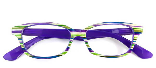 Leesbril Readloop Cauris 2604-04 groen/paars/blauw/wit