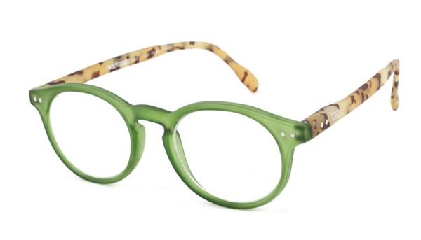 Leesbril Readloop Tradition 2601-05 groen/havanna
