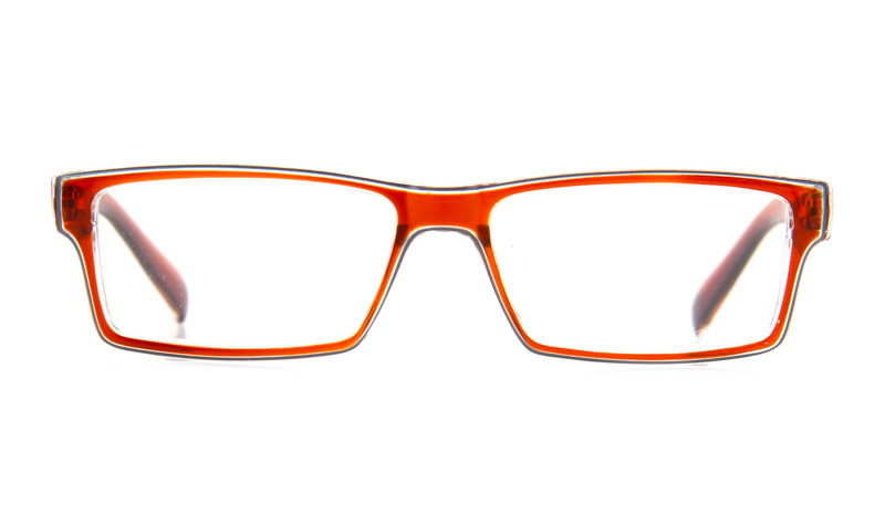 Leesbril iZi reader 13 bruin transparant