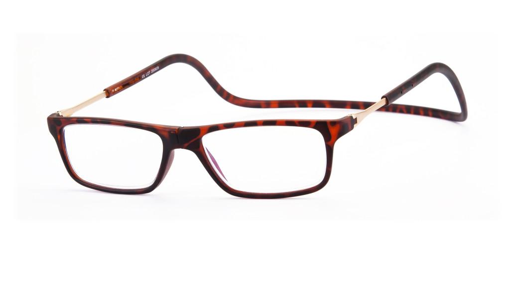 Magneet leesbril Nordic Glasögon Stockholm havanna
