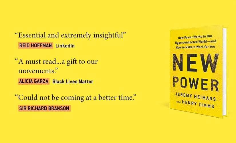 New Power: A Key to Leadership in the 21st Century